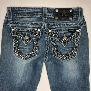 Miss Me Boot Cut Jeans Size 25